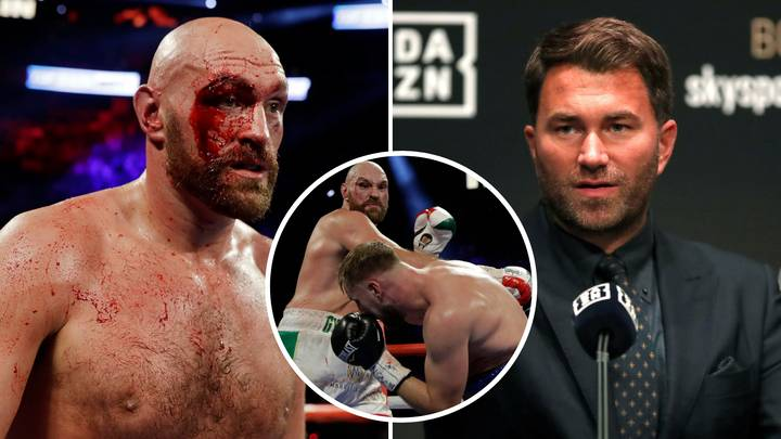 Eddie Hearn Believes Tyson Fury Was 'Very Lucky' To Avoid A Shock Loss To Otto Wallin