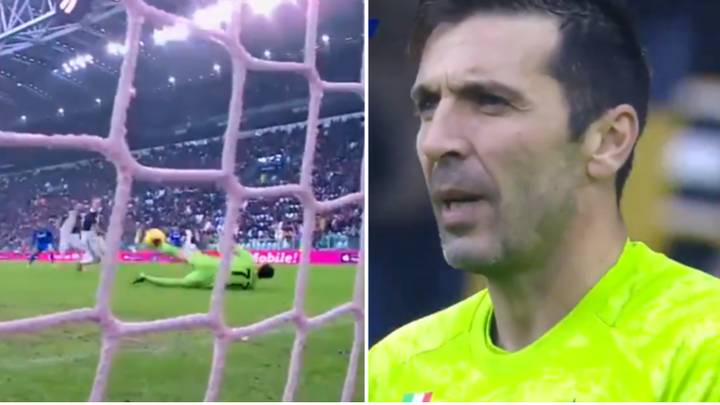 Calls For Gianluigi Buffon To Retire After Horrendous Mistake Against Sassuolo