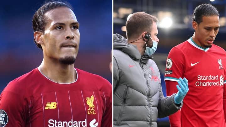 'Virgil Van Dijk May Return For Liverpool's Biggest Games Of The Season'