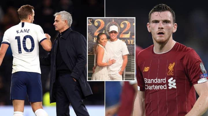 Thiago Silva's Wife Takes To Social Media To Aim Shots At Both Liverpool's Andy Robertson And Tottenham