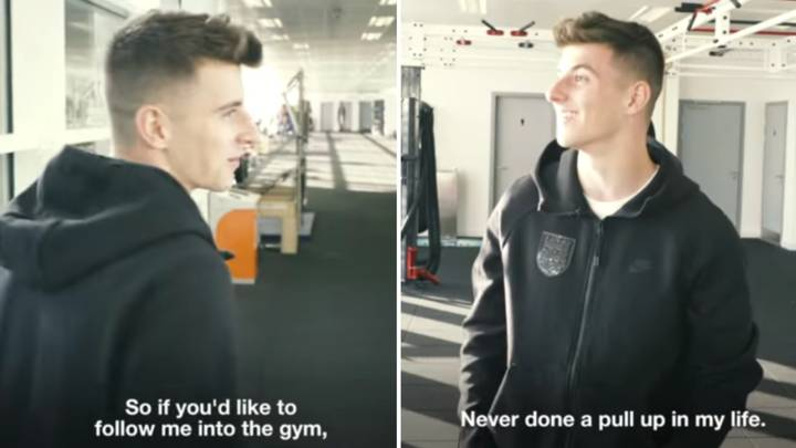 Mason Mount Gives SPORTbible A Tour Of England's Training Base At St George's Park