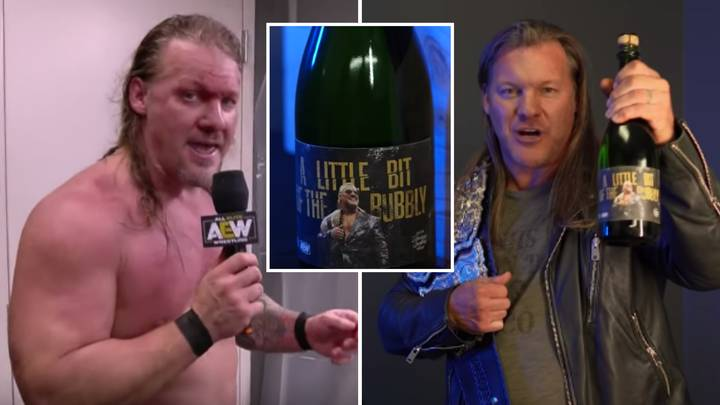 AEW Champ Chris Jericho Is Now Selling 'A Little Bit Of The Bubbly' Sparkling Wine