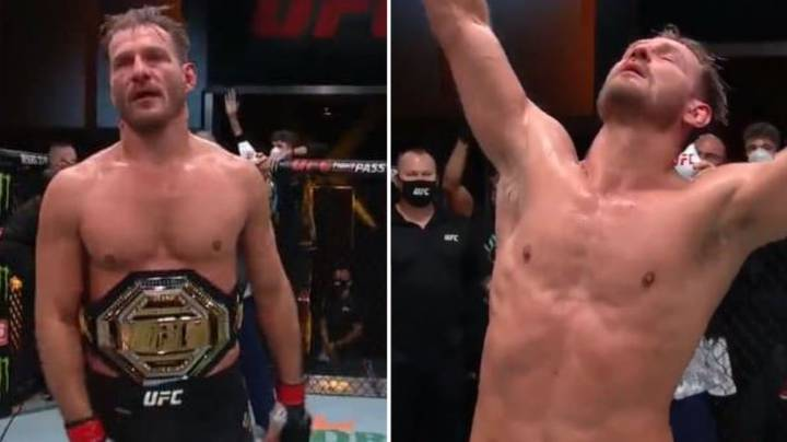 Stipe Miocic Beats Daniel Cormier At UFC 252