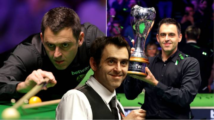 There's A Petition To Include Ronnie 'The Rocket' O'Sullivan In The SPOTY Nominees