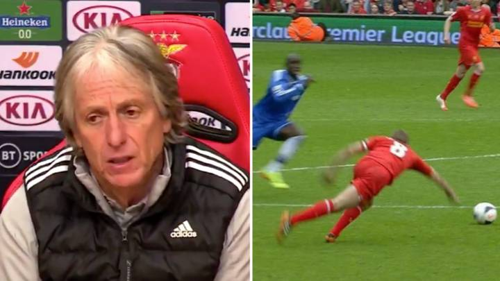 Benfica Manager Jorge Jesus Awkwardly Refers To Steven Gerrard As 'A Chelsea Legend' In Press Conference