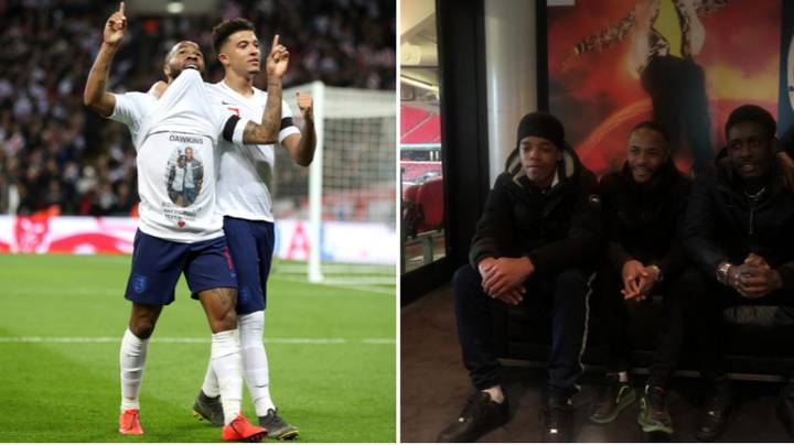 Raheem Sterling Signed His England Hat-Trick Shirt And Donated It To Charity