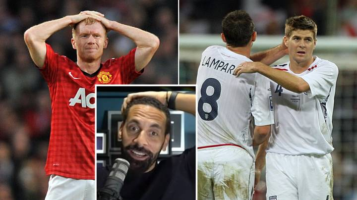 Rio Ferdinand Picks Between Scholes, Gerrard And Lampard - His Answer May Surprise You