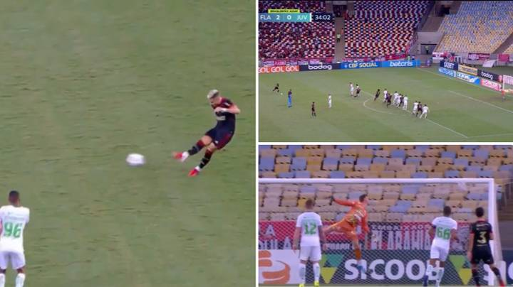 Manchester United Loanee Andreas Pereira Scores Outrageous 30-Yard Free-Kick For Flamengo
