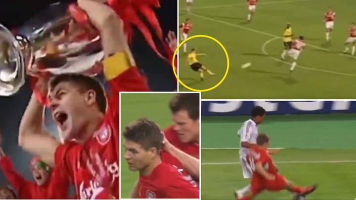 Steven Gerrard's 04/05 Champions League Highlights Are Extraordinary, He Was The World's Most Complete Midfielder