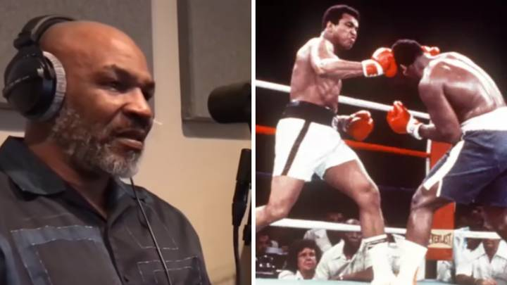 Mike Tyson Gets Emotional When Talking About Muhammad Ali