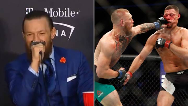 Conor McGregor Responds To Potential Trilogy Fight With Nate Diaz