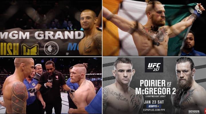 UFC Drop Incredible Conor McGregor vs Dustin Poirier Trailer