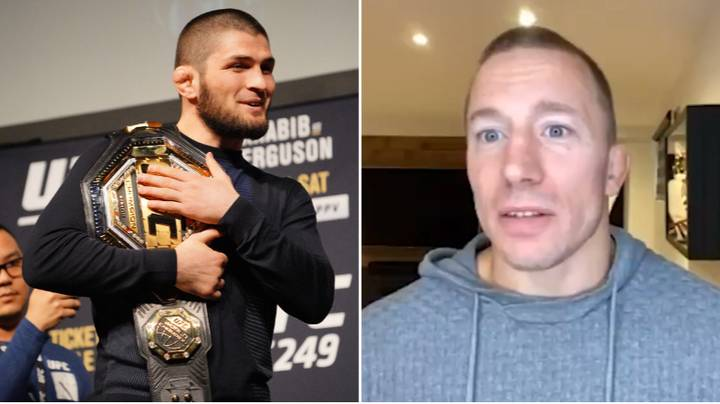 """Georges St-Pierre Names The """"Perfect Fighter"""" In the UFC And It's Not Khabib Nurmagomedov"""