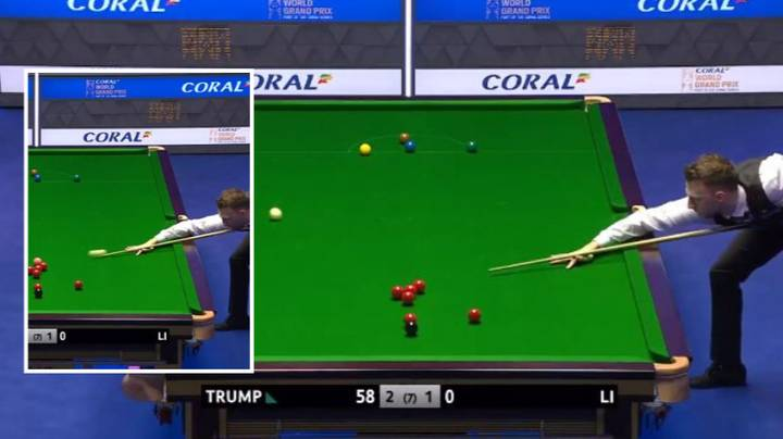 Judd Trump Plays Ridiculous Shot In World Grand Prix