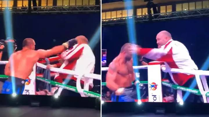 When Boxer Levan Shonia Attacked His Own Coach After Losing Fight