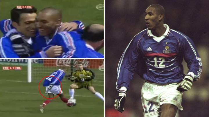 Nicolas Anelka Once Demolished England While Wearing Goalie Gloves And It's Still The Biggest Flex