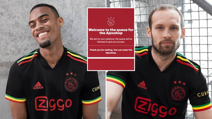 Ajax's 'Bob Marley' Kit Is So Lush, It Crashed Their Website Within Minutes Of Launch