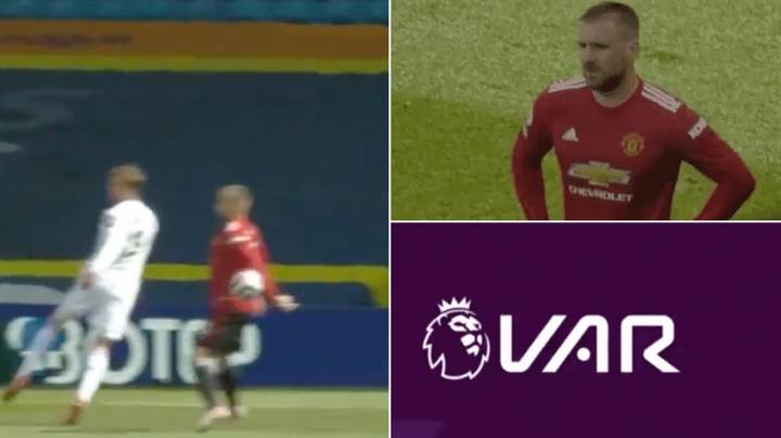Leeds Denied Penalty Against Manchester United After VAR Review