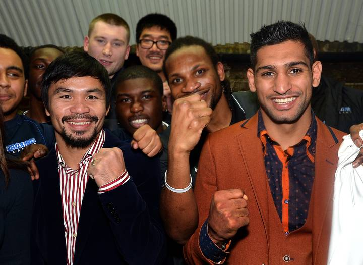 BREAKING: Manny Pacquiao Vs. Amir Khan Set To Fight On April 23rd