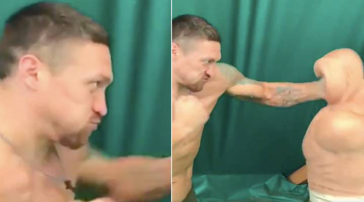 Oleksandr Usyk's Punching Power Is Genuinely Frightening