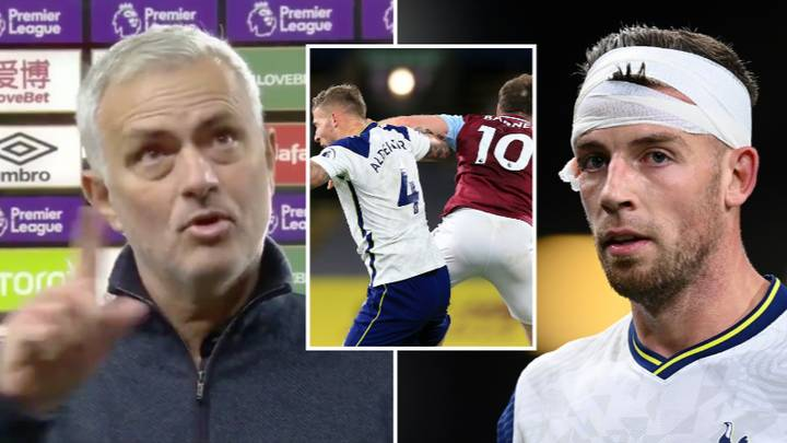 Jose Mourinho Praises Referee For Not Sending Off Ashley Barnes In Bizarre Post-Match Interview