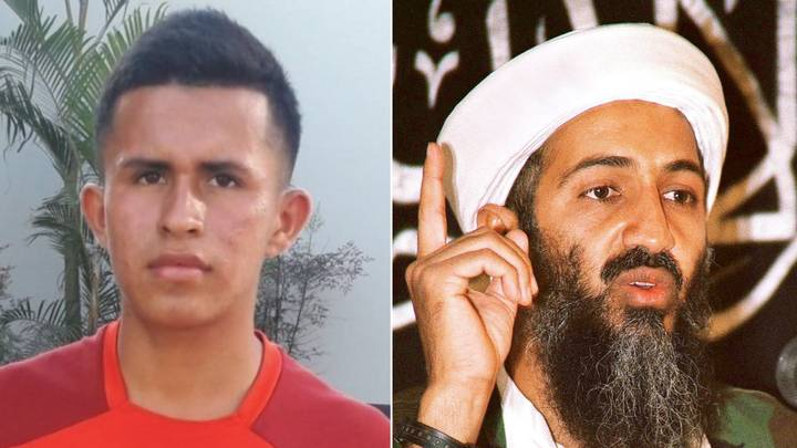 Peruvian Footballer Is Called 'Osama VinLaden', With His Brother Named 'Saddam Hussein'
