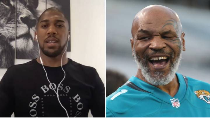 Anthony Joshua Sends Warning To Mike Tyson Ahead Of Boxing Comeback