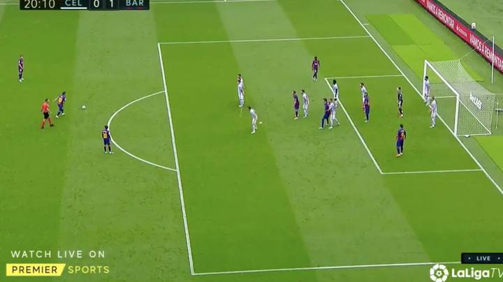 Lionel Messi's Incredible Free-Kick Against Celta Vigo Shows His Brain Works Differently