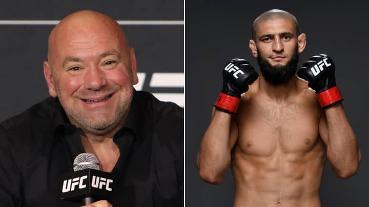 UFC Boss Dana White Reacts To Khamzat Chimaev's Shock Retirement From MMA