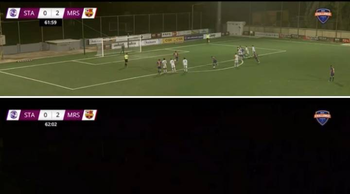 Watch: Power Cut Hits Maltese 1st Division Match At Exactly The Worst Moment