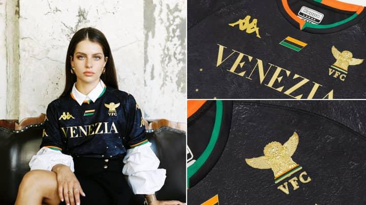 Venezia FC Reveal Epic New Home Shirt Ahead Of Serie A Return