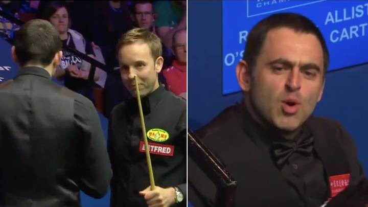 Ronnie O'Sullivan Shoulder-Barges Ali Carter As Things Get Heated At World Championships