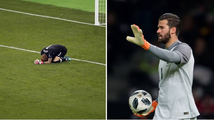 Alisson Comes To Defence Of Loris Karius After Champions League Disaster