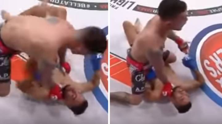 The Scary Moment When A Referee Didn't Believe MMA Fighter Was Unconscious, Opponent Had To Prove It