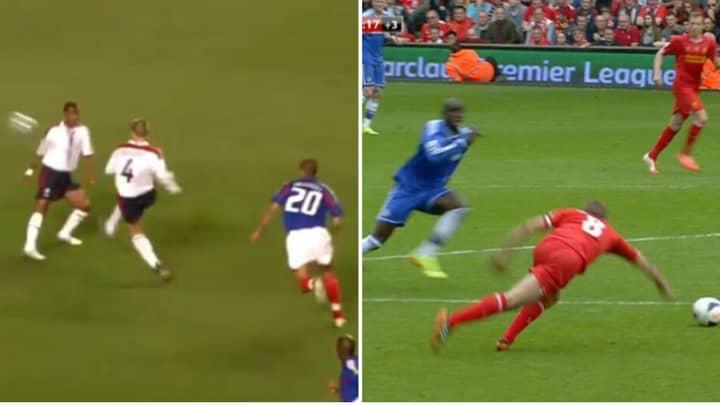 Fan Thread Of Steven Gerrard's Most Embarrassing Assists Has Gone Viral