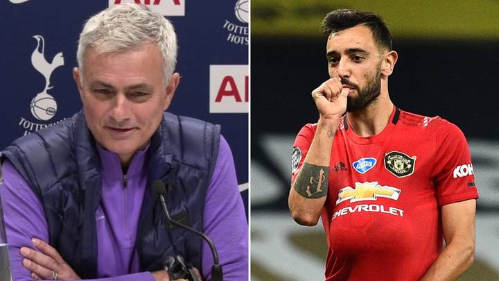 "Jose Mourinho Thinks Bruno Fernandes Is Good At Penalties Because ""He's Had About 20 To Score"""