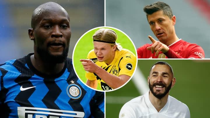 Inter Milan Star Romelu Lukaku Is At 'SAME Level As Lewandowski, Benzema And Haaland'