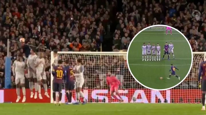 Lionel Messi's Magnificent Free-Kick Is Even Better From Every Camera Angle