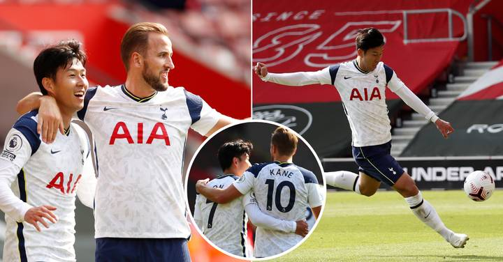 Son Heung-Min Scores Four Goals From Four Harry Kane Assists Against Southampton