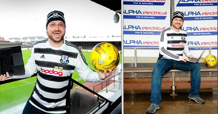 Football Manager Addict Travels 3000 Miles To Watch His FM Team - Ayr United