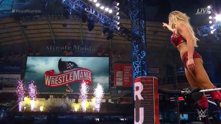 Charlotte Flair Wins The Women's Royal Rumble