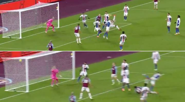 Sebastien Haller Generated An Insane Amount Of Power To Score Bicycle Kick For West Ham Vs Palace