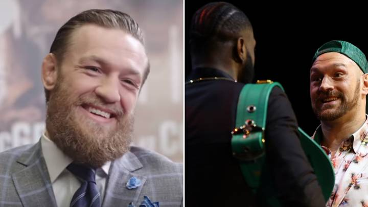 Conor McGregor Gives Advice To Tyson Fury Ahead Of Deontay Wilder Rematch