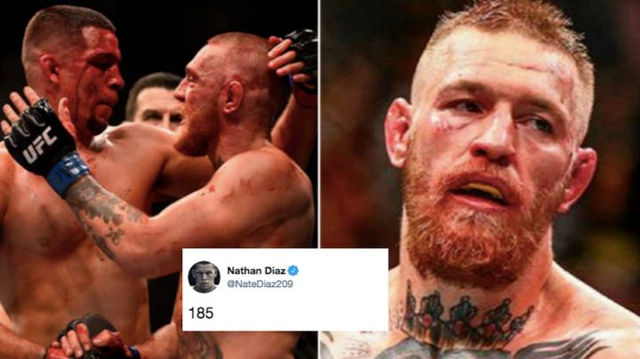 Conor McGregor Ready To Fight Nate Diaz At 185 To Complete Trilogy
