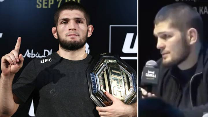 Khabib Nurmagomedov Asked Who Is The Best Pound-For-Pound Fighter In UFC Right Now