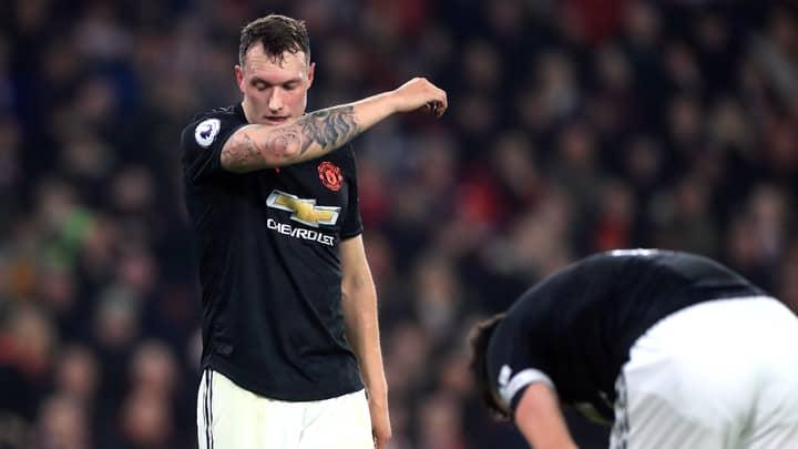 Twitter Delete Post Mocking Phil Jones After Manchester United Complain
