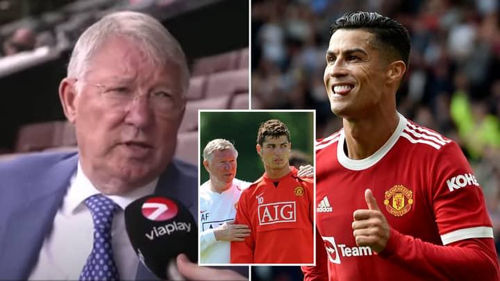 Sir Alex Ferguson Finally Explains Cristiano Ronaldo's Return In Rare Interview At Old Trafford
