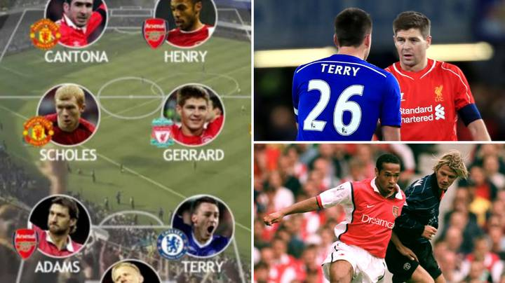 The Team That Was Voted The Greatest Premier League XI By Fans