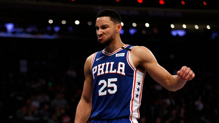 New Vision Emerges Of Ben Simmons Practicing Jump Shots