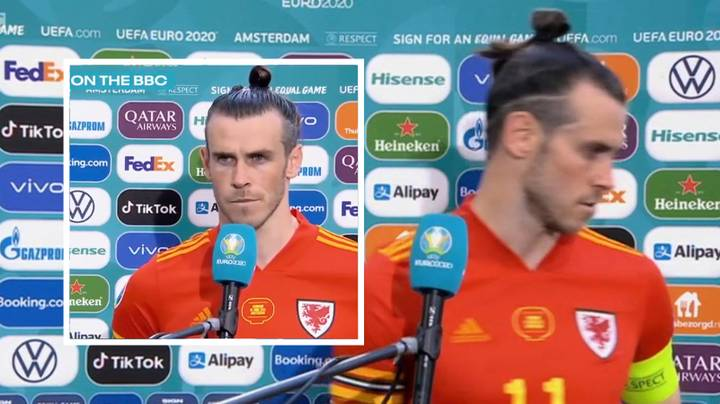 Gareth Bale Storms Out Of Post-Match Interview Before Reporter Finishes Question